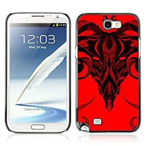 Designer Depo Hard Protection Case for Samsung Galaxy Note 2 N7100 / Cool Skull