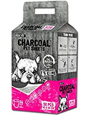 Paw Made ABS-08368 Absorb Plus Charcoal Pet Sheets, Medium (50pcs)