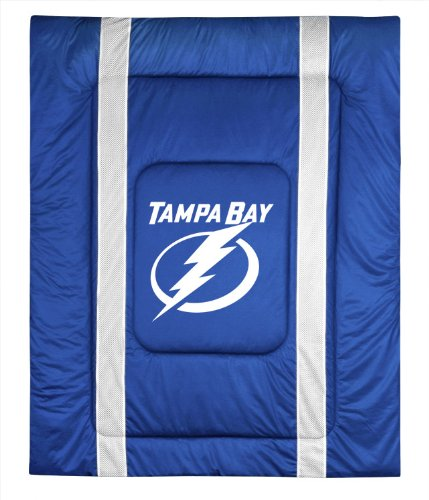 NHL Tampa Bay Lightning Sideline Comforter -