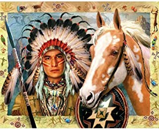 product image for Indian Chief Jigsaw Puzzle 1000pc