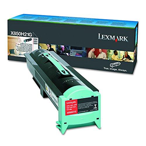 (Lexmark X850H21G Black Toner Cartridge)