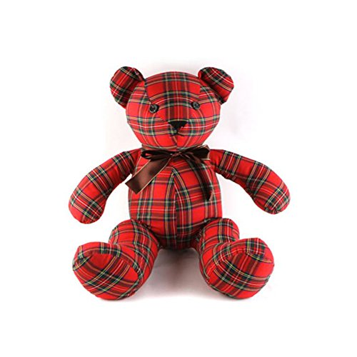 santiego-unique-special-edition-check-bear-plush-doll-bear-doll