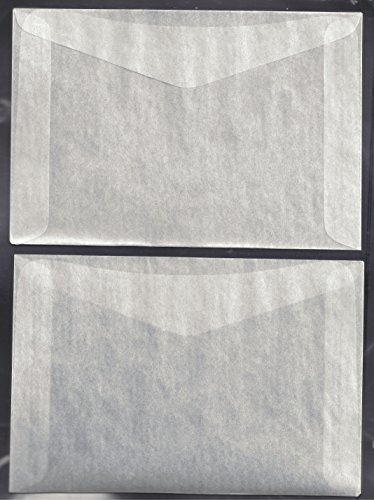1,000 #8 Glassine Envelopes -- 4 1/2 X 6 5/8 INCHES by