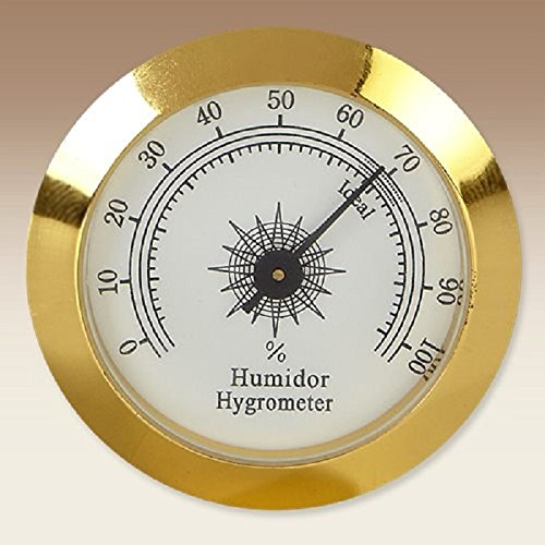 New Super Classic Style Humidor Analog Gold Hygrometer Cigar Smoking Pipe Tobacco Tool & Accessories Gift Idea tamper, pick and spoon
