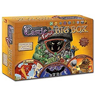 Fireside Games - Castle Panic Big Box - Board Games for Families - Games for Kids 7 & Up