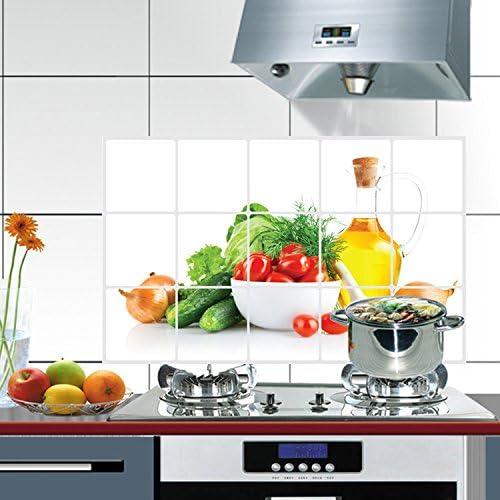 Image ofKicode DIY extraíble Aceite-Prueba Pegatinas de Pared Cocina Arte Mural Vinilo Inicio Sala de la Etiqueta de la decoración