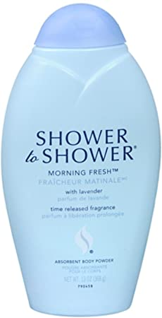 Shower To Shower Powder 13 Ounce Morning Fresh 6 Pack