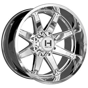 Hostile H109 Alpha 20x12 8x165.1 -44mm Chrome Wheel Rim