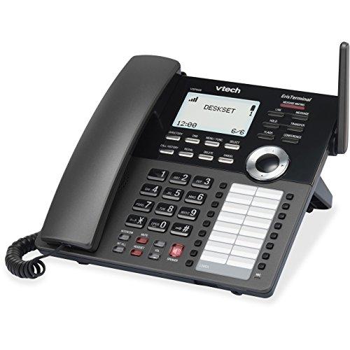 Desktop Wireless Ip Phone - VTech ErisTerminal VSP608 IP Phone - Wireless - DECT - Desktop