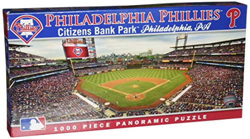 MasterPieces MLB Philadelphia Phillies Stadium Panoramic Jigsaw Puzzle, 1000-Piece