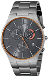 Skagen Men's SKW6076 Balder Titanium Chronograph Watch