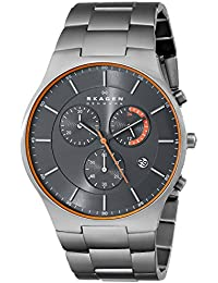Men's SKW6076 Balder Grey Titanium Link Watch