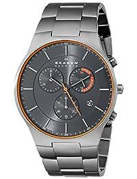 Skagen Men's Balder SKW6076 Grey Titanium Quartz Watch