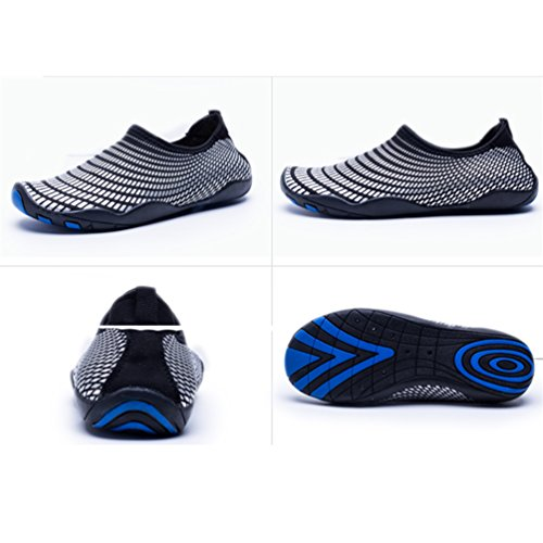 Walking Quick Drying Swimming with On Dive Beach Sandals Black Sports Aqua Slip for Men Drainage B Yoga on Water Sneakers Shoes Surf UBFEN Women Holes RZXYzz