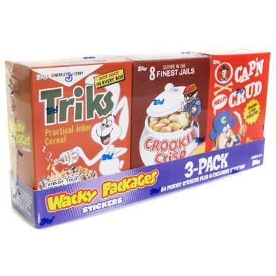 Wacky Packages All-new Series 7 Mini-cereal Box Tray (B) ()