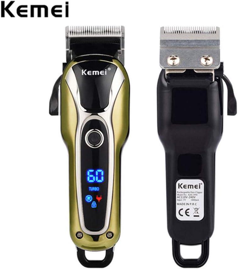Máquina de afeitar eléctrica inalámbrica para hombre, afeitadora ...