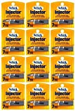 Schick Injector Blades - 1 Dozen of 7 Count Boxes = 84 Count