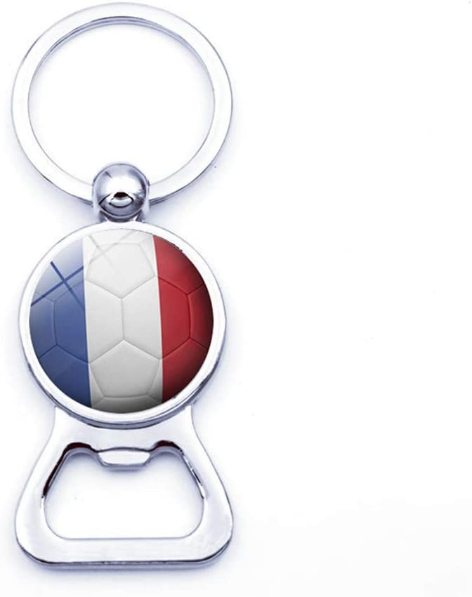 Lumanuby 3.2cm 1 Pcs National Flag Football Keychain Bottle Opener Keyring Key Chain Decoration Pendant For Car//Door//Bag Nice Festival Birthday Gift 8.3 Argentine