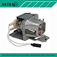 SP.77011GC01 Replacement Projector lamp Compatible with OPTOMA W350 W351 X316ST X35 X351 W316ST DH1012 EH210 EH341 HD26LV HD28DSE HDF572 HT210V (By Artki)