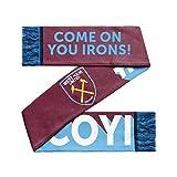 West Ham United FC #COYI Slogan Scarf