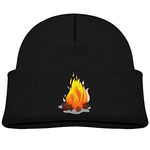 HOOAL Bonfire Baby Boy Winter Warm Hat, Lovely Knit Beanies Cotton Cap for Girls and Boys -
