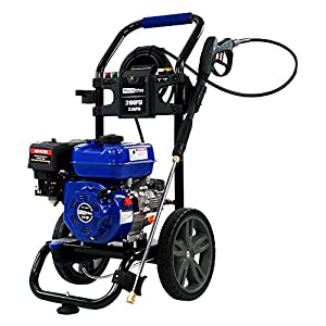 DuroMax 3100 PSI 2.5 GPM 7 Hp Gas Powered Turbo Nozzle Pressure Washer