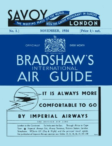 International 1934 Bradshaw's Air George 2013 By 06 03 Guide Bradshaw RqZv6dw