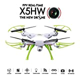GOOLRC SYMA X5HW Wifi FPV Drone 2.0MP HD Camera RC Quadcopter with 360° Eversion Headless Mode High Hold Mode Function