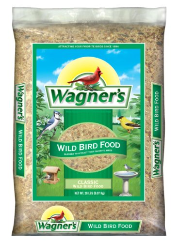 Medium Bird (Wagner's 52004 Classic Wild Bird Food, 20-Pound Bag)