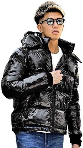 サムディフ(SOMEDIFF) エナメルバックロゴ中綿ジャケット アウター 人気 メンズ