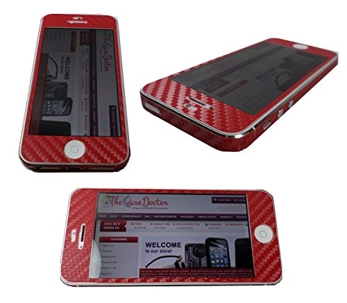 iphone 4 carbon skin - 1