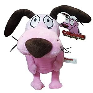 "12'' Courage the Cowardly Dog Soft Toy Plush by Cartoon Network - 51b3znqaS6L - 12"" Courage the Cowardly Dog Soft Toy Plush by Cartoon Network"
