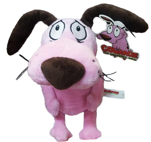 """12'' Courage the Cowardly Dog Soft Toy Plush by Cartoon Network - 51b3znqaS6L - 12"""" Courage the Cowardly Dog Soft Toy Plush by Cartoon Network"""