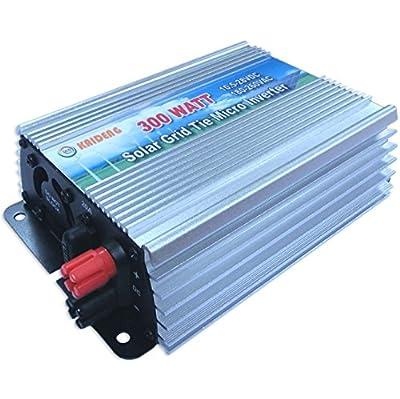 300W Grid Tie Inverter 110V or 220V MPPT Pure Sine Wave Inverter 50Hz/60Hz Auto