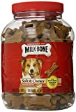 Milk-Bone Soft & Chewy Dog Snacks- 2 Pack- (37oz Each) (Chicken)