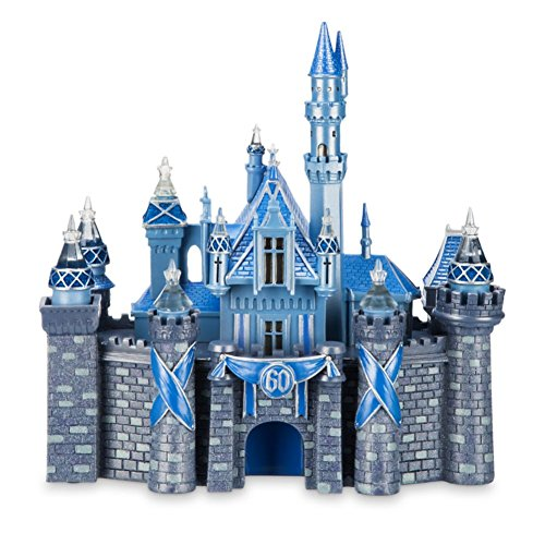 Sleeping Beauty Castle (Disney Medium Big Fig Figure Sleeping Beauty Castle 60th Diamond Celebration Statue)