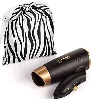 Dual Voltage Folding Travel Hair Dryer