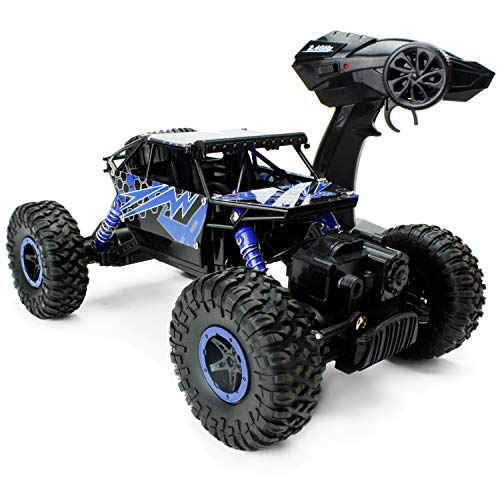 Boley 2099 - Lightning Raider - Radio Control, 4-Wheel Drive, All-Terrain Climber - Action-Packed RC Car Toy for Boys and Girls - Durable, Easy to Control - Perfect for Gifts - Cars Wheel 4 Drive