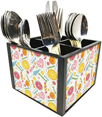 Nutcase - Soporte de cubiertos para cuchillos y cucharas ...