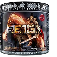 RE1GN All-in-One Pre Workout by Olympus Labs   Pre Workout Bodybuilding Supplement for Epic Pump & Endurance, Intense Energy & Immaculate Focus   Delicious Fast-Acting Formula   20 Servings