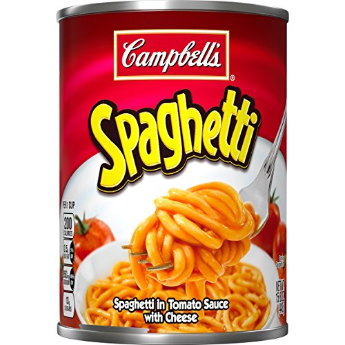 Campbell's Spaghetti, 15.8 Ounce (Pack of 12) (Packaging May (Cheese Spaghetti)
