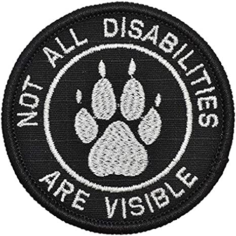 Amazon Com Not All Disabilities Are Visible Service Dog