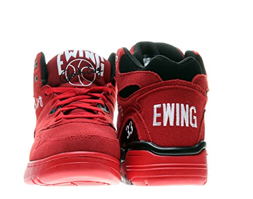 Patrick Ewing Athletics Ewing Guard Mens Scarpe Da Basket 1ew90119-602 Rosso Nero-bianco 9 M Us