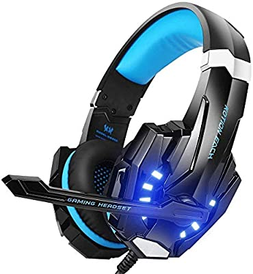 BENGOO G9000 Stereo Gaming Headset for PS4, PC, Xbox One Controller, Noise Cancelling Over Ear Headphones with Mic, LED Light, Bass Surround, Soft Memory Earmuffs for Laptop Mac Nintendo Switch Games - 10151625 , B01H6GUCCQ , 285_B01H6GUCCQ , 996399 , BENGOO-G9000-Stereo-Gaming-Headset-for-PS4-PC-Xbox-One-Controller-Noise-Cancelling-Over-Ear-Headphones-with-Mic-LED-Light-Bass-Surround-Soft-Memory-Earmuffs-for-Laptop-Mac-Nintendo-Switch-Games-285_B0