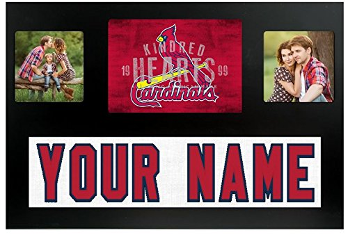 St. Louis Cardinals MLB Custom Jersey Nameplate and Logo Picture Frame