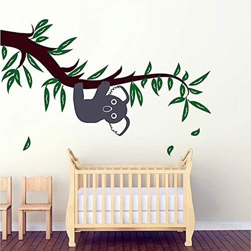 Nerw Diseño Lindo Koala en Las Ramas Etiqueta de La Pared Bebé ...