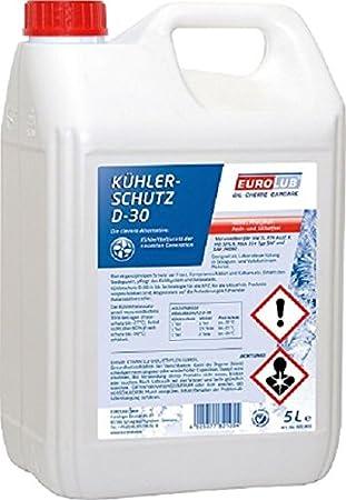 EUROLUB Radiator Protection Fluid D-30, 5 Liters EUROLUB GmbH 821005