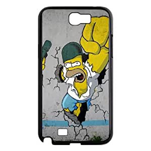 Samsung Galaxy Note 2 N7100 Phone Case The Simpson 19C02622