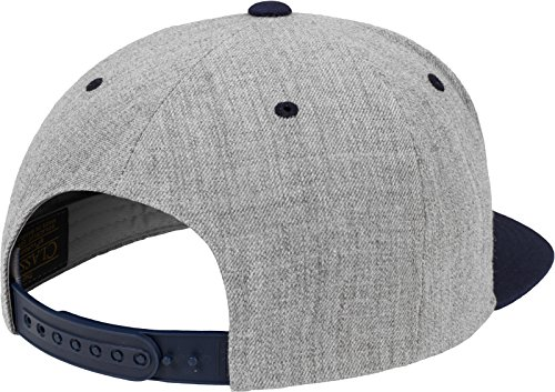 Multicolor Flexfit Navy Mütze Snapback unisex Gorro tone Heather única Classic Talla 2 PPzBqdnxrw
