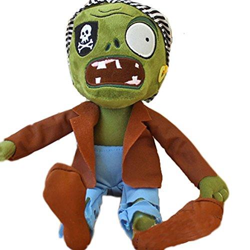 E.a@market PVZ Game Pirate Zombie Zombie Plush Toy 11